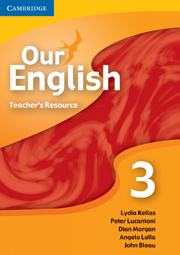 Our English 3 Teacher Resource CD-ROM