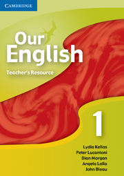 Our English 1 Teacher Resource CD-ROM