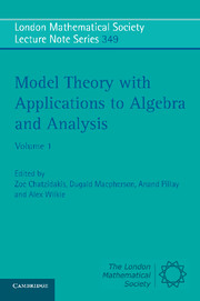 Model Theory with Applications to Algebra and Analysis
