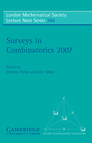 Surveys in Combinatorics 2007