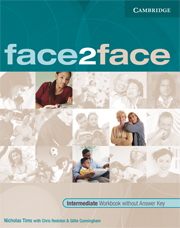 face2face Intermediate Workbook without Key Italian Edition