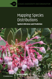 Mapping Species Distributions