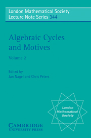 Algebraic Cycles and Motives