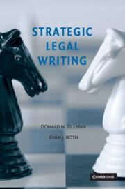 STRATEGIC LEGAL WRITING PDF