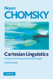 Cartesian Linguistics