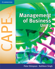 Management of Business for CAPE® Unit 2