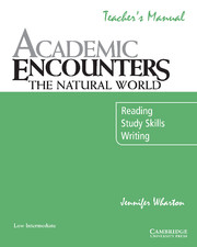 Academic Encounters: The Natural World