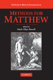 Methods for Matthew