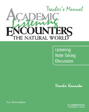 Academic Listening Encounters: The Natural World