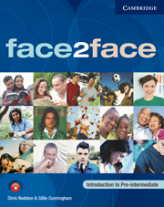 face2face Introduction to Pre–Intermediate Booklet