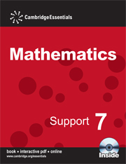 Cambridge Essentials Mathematics Support 8