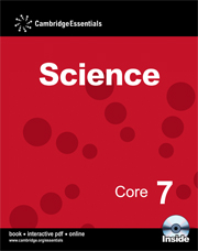 Cambridge Essentials Science Core 7 Book with CD-ROM