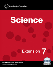 Cambridge Essentials Science Extension 7 Camb Ess Science Ext 7 w CD-ROM