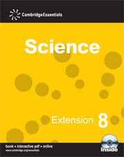 Cambridge Essentials Science Extension 8 with CD-ROM