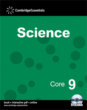 Cambridge Essentials Science Core 9 with CD-ROM