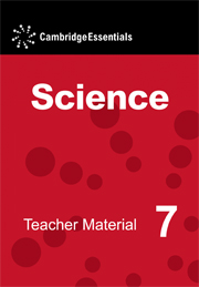 Cambridge Essentials Science Teacher Material 7 CD-ROM