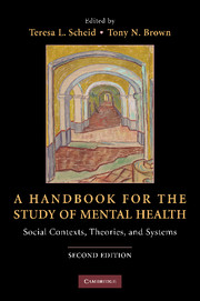 A handbook for the study of mental health edited by teresa l scheid a handbook for the study of mental health fandeluxe Image collections