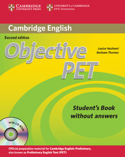 Cambridge Preliminary English Test Pdf