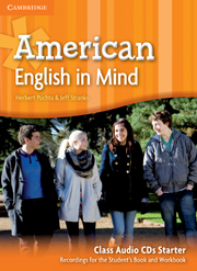 American English in Mind Starter Class Audio CDs (3)