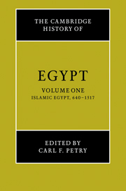 The Cambridge History of Egypt