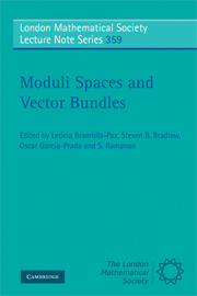 Moduli Spaces and Vector Bundles
