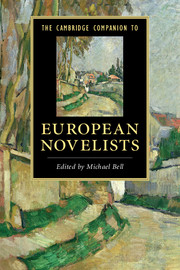 The Cambridge Companion to European Novelists