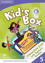 Kid's Box Level 5 Interactive DVD (PAL) with Teacher's Booklet