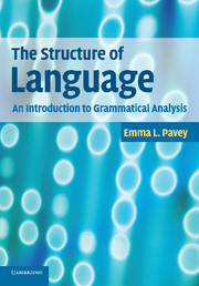 The Structure of Language by Emma L  Pavey