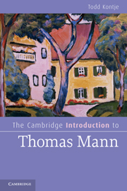 The Cambridge Introduction to Thomas Mann