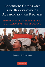 Economic Crises and the Breakdown of Authoritarian Regimes