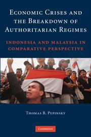 Economic Crises and the Breakdown of Authoritarian Regimes