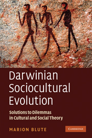 Darwinian Sociocultural Evolution