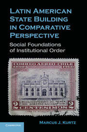 Latin American State Building in Comparative Perspective