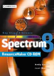 Spectrum Teacher File and ResourceMaker Year 8 CD-ROM