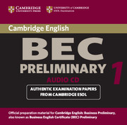 Cambridge BEC Preliminary Audio CD