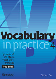 Vocabulary in Practice 4