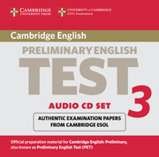 Cambridge Preliminary English Test 3 Audio CD Set (2 CDs)