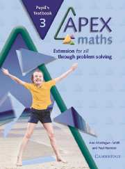 Apex Maths 3 Pupil's Textbook