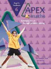 Apex Maths 6 Pupil's Textbook