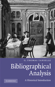 Bibliographical Analysis