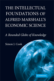 The Intellectual Foundations of Alfred Marshall's Economic Science