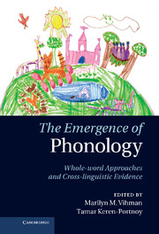 The Emergence of Phonology