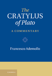 The Cratylus of Plato
