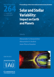 Solar and Stellar Variability (IAU S264)
