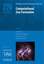 Computational Star Formation (IAU S270)