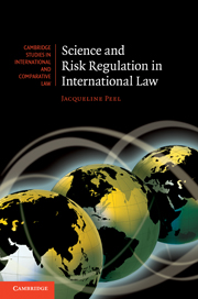 Science and Risk Regulation in International Law
