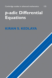 p-adic Differential Equations