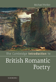 The Cambridge Introduction to British Romantic Poetry