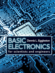 Basic Electronics Scientists And Engineers Electronics For Physicists Cambridge University Press