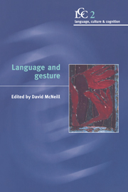 Language and Gesture